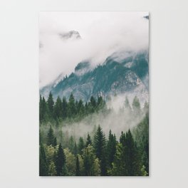 Vancouver Fog Canvas Print