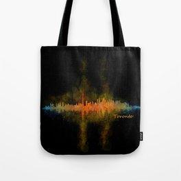 Toronto Canada City Skyline Hq v02 dark Tote Bag