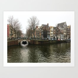 Canals of Amsterdam Art Print