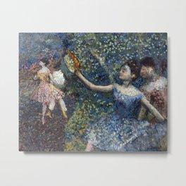 Edgar Degas - Dancer With A Tambourine Metal Print