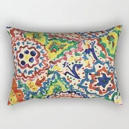 Fleur de Flair Rectangular Pillow