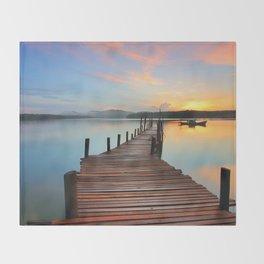 Sunset 2 Throw Blanket