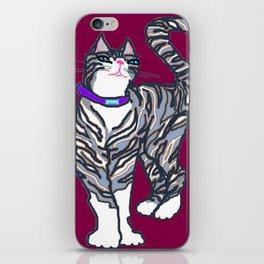 Helena Kitty with Fleur de Lis iPhone Skin