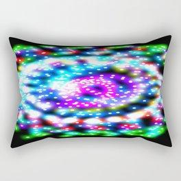 Skittle Galaxy Rectangular Pillow