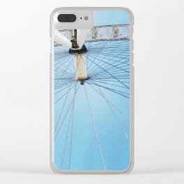 Eye in the sky Clear iPhone Case
