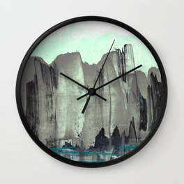City from the Park Wall Clock