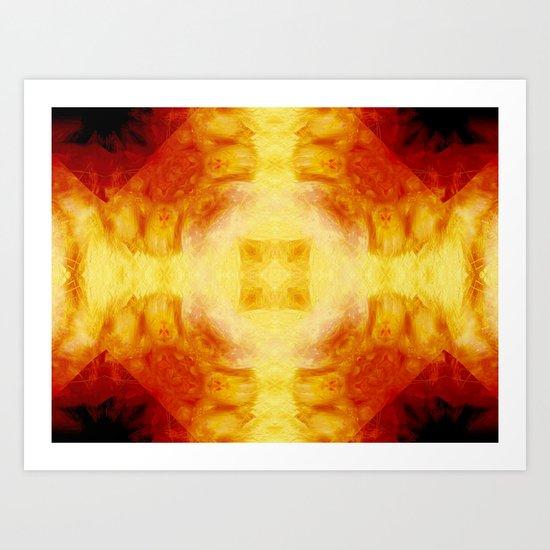 Magma Shrine Art Print
