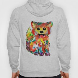 Baby Fox Watercolour Hoody