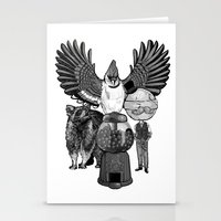 regular show Stationery Cards featuring Regular by Duane Marquez