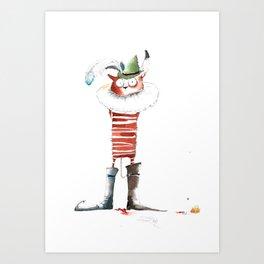 Naughty Boy Art Print