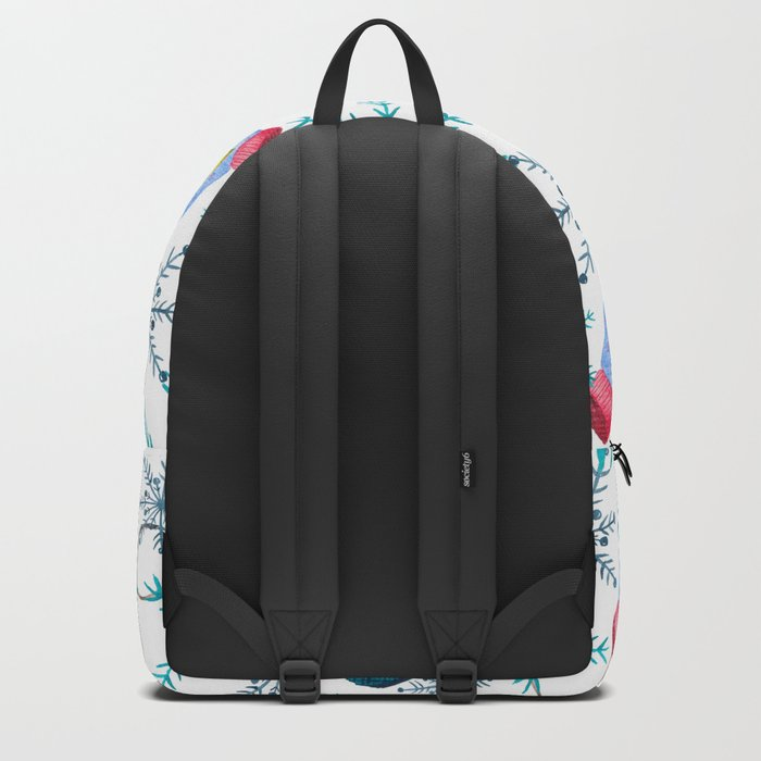 Blue Snowflakes #3 Backpack
