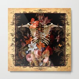 Still Life With Bones Metal Print
