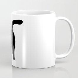 Funny Chonk Cat Black 013 Coffee Mug
