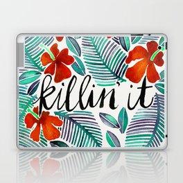 Killin' It – Tropical Red & Green Laptop & iPad Skin