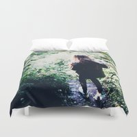 wander Duvet Covers featuring Wander by Johnny Frazer