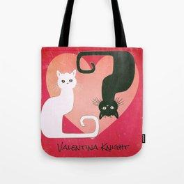 Kitty Yin Yang Tote Bag