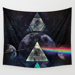 LYYT SYYD ºF TH' MYYN Wall Tapestry