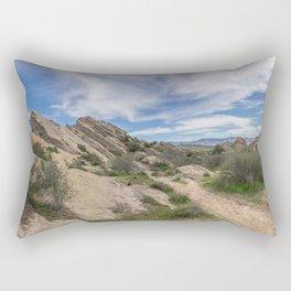 Vasquez Rocks Natural Area Rectangular Pillow