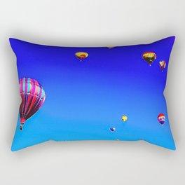 Balllon and Wine Festival Rectangular Pillow