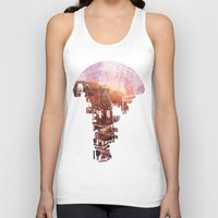 kids Tank Tops featuring Secret Streets by David Fleck