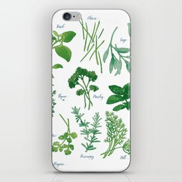 Kitchen Herbs iPhone Skin