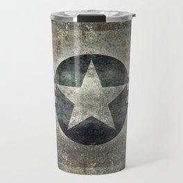 Stylized US Air force Roundel Travel Mug