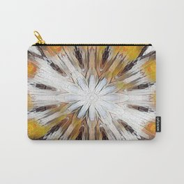 Sunburst Abstract Carry-All Pouch