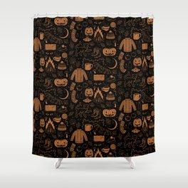 Autumn Nights: Halloween Shower Curtain