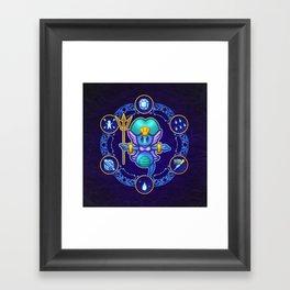 Undine Framed Art Print