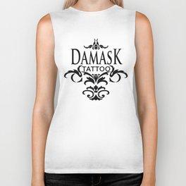 Damask Tattoo  Biker Tank