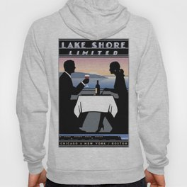 Vintage poster - Lake Shore Limited Hoody