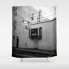 Bar Jack Shower Curtain
