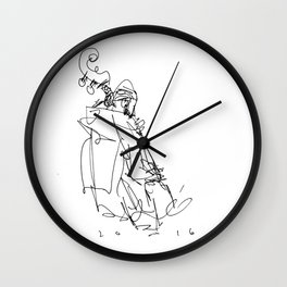 the bassist at stritch Wall Clock