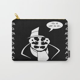 Rorschach - Remember Who Created Me Carry-All Pouch