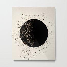 Full Moon Art Print Metal Print
