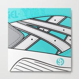 Diamond x Kith - Asics gel lyte V Tiffany/White  Metal Print