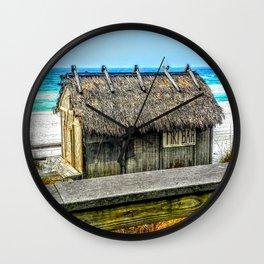 Miramar Tiki Bar Wall Clock