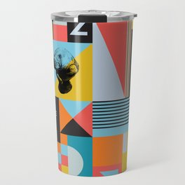 Spikkelz Pattern A Travel Mug