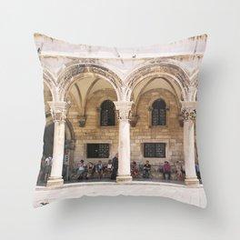 Dubrovnik II Throw Pillow