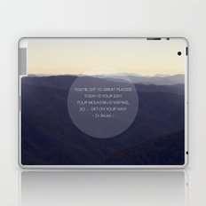 You're off to great places ... Laptop & iPad Skin