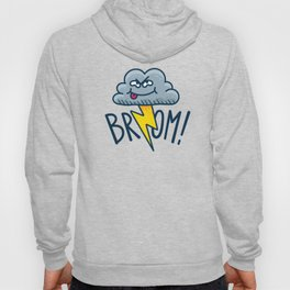 Funny Fart Cartoon Cloud Hoody