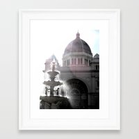 melbourne Framed Art Prints featuring Melbourne  by Carmen