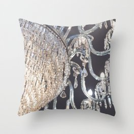 Danced by the Light Throw Pillow