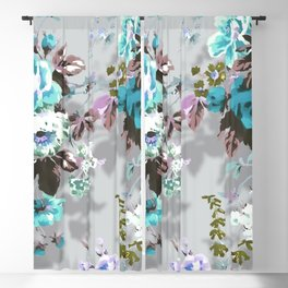 Bouquets with roses 9 Blackout Curtain