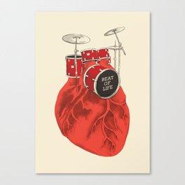 Beat of Life Canvas Print