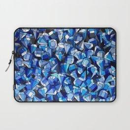 Fond Bleu Laptop Sleeve