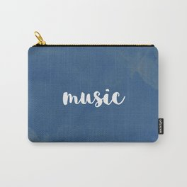 BLUE MUSIC Carry-All Pouch