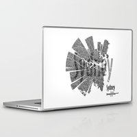 sydney Laptop & iPad Skins featuring Sydney by Shirt Urbanization