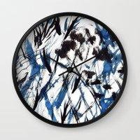 flight Wall Clocks featuring FLIGHT by Teresa Chipperfield Studios