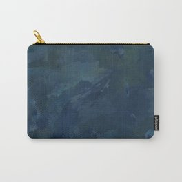 Blue camouflaged Carry-All Pouch